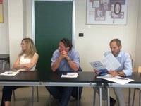 Visita degli Ass. Ferri (Ambiente e Attività produttive) e Serra (Smart cities) del Comune di Ferrara