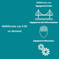 #60Minutes on demand: prenota il tuo meet con un docente del DE