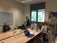Delegazione delle Università turche di Toros e Mersin in visita al DE