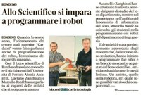 La Robotica al liceo di Bondeno