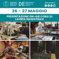 Lauree Magistrali: il 26 e 27 maggio le presentazioni dei corsi saranno online!