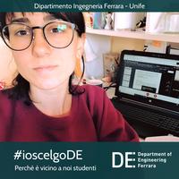 """Sonia Riccitiello: """"Ho scelto il DE perchè è vicino a noi studenti"""""""