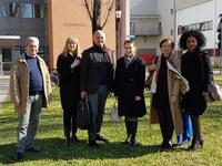 Visita della delegazione della Hochschule Darmstadt al Dipartimento di Ingegneria